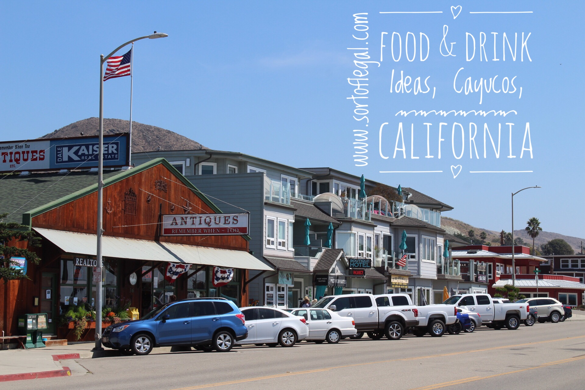 Where to Eat, Drink, & Be Merry in Cayucos, California - Sort of Legal