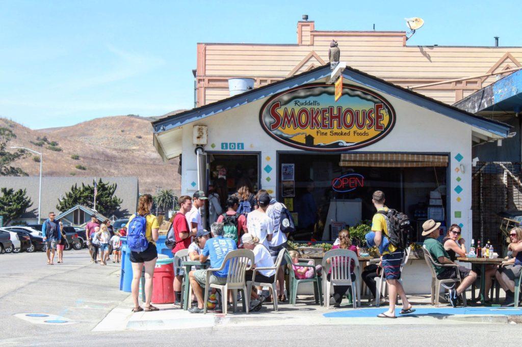 Ruddell's Smokehouse, Cayucos, California