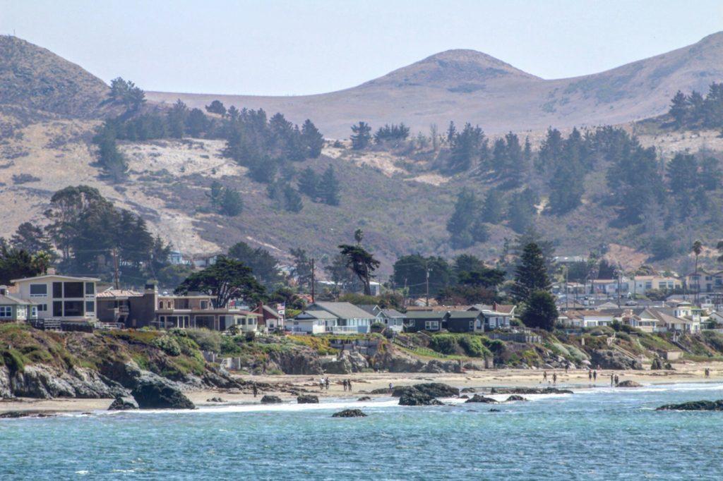 Cayucos, California Coastline